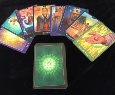 オラクルカードリーディングします 人間関係の悩みをカードを使ってアドバイス イメージ1