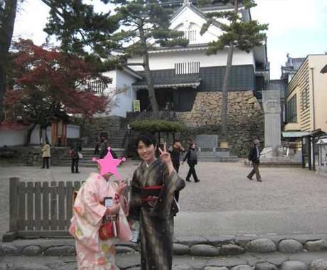 愛知県岡崎市周辺限定 「着物で楽しむランチやお出かけプラン」をご提案します。 イメージ1