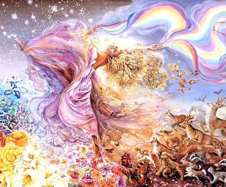 女性ならではの悩み解消、愛、美、豊かさ引き出します 聖なる女神覚醒プロジェクト!大天使ガブリエル×ミカエル イメージ1