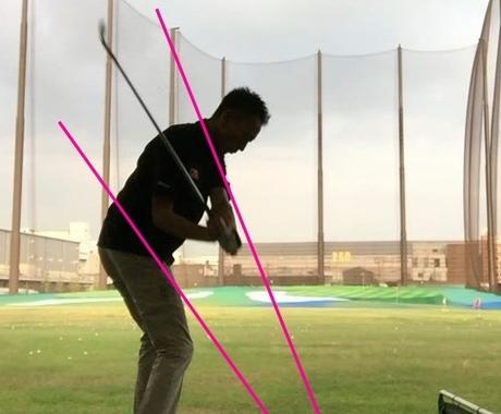 プロが、あなたのスイング動画にゴルフレッスンします わかりやすいワンポイントアドバイスを。 イメージ1