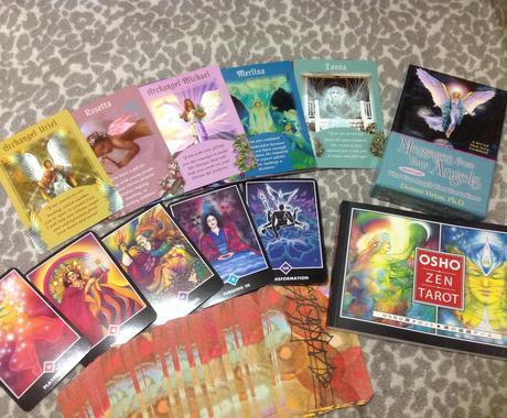 天使オラクルカード&OSHO禅タロットリーディング♪ イメージ1