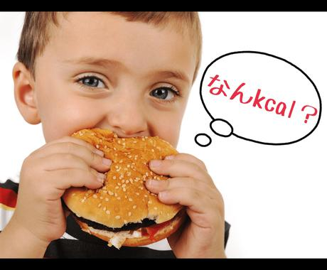 管理栄養士が1日の摂取カロリーを見える化します あなたの食事には何が多くて何が必要か、本当に知っていますか? イメージ1