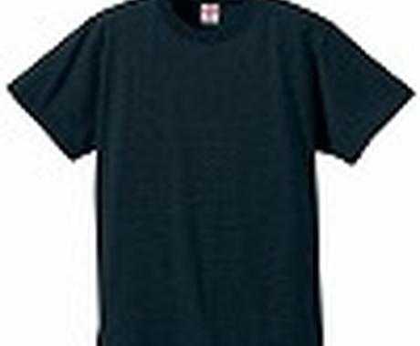 無地のTシャツ格安にて1枚から販売します イメージ1