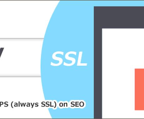 サイトのSSL化対応します http → https サイトのURLはそのままにSSL化 イメージ1