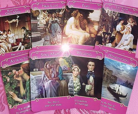 恋愛・結婚・愛情をオラクルカードで占います 天使から愛のメッセージを受け取りましょう イメージ1