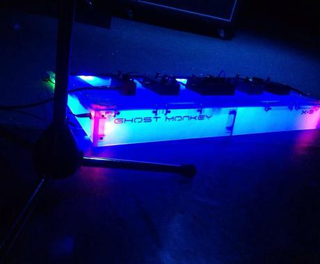 ギター用エフェクタークリアーケース作ります。 イメージ1