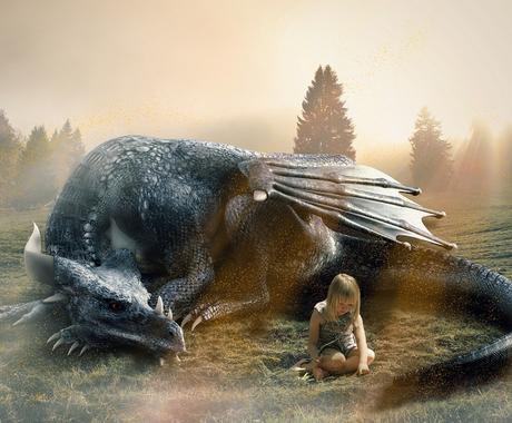 あなただけの竜をご提供いたします 竜がお好きな方、特別な存在に守護してもらいたい方などにお勧め イメージ1