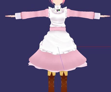 安価でキャラクターモデリングをします 自分のオリジナルキャラクターのモデルが欲しい方におすすめ! イメージ1
