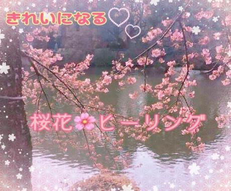 浄化し女性性を高め綺麗になりたいあなたへおくります 桜花ヒーリング・天使からメッセージありソウルメイト引き寄せも イメージ1