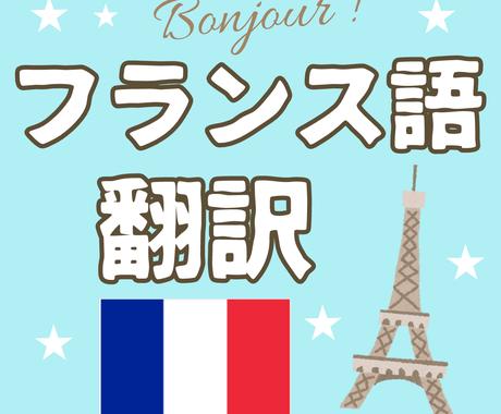 ご希望の日本語を完璧なフランス語に翻訳をします 日本語バイリンガルなフランス人によるハイクオリティな翻訳。 イメージ1