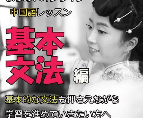 基本文法編)中国語の基本文法レッスンをいたします 上海5つ星ホテル勤務経験者が中国語文法の基本から教えます! イメージ1
