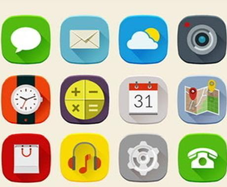 iOSアプリ用アイコンを作成します iOSアプリ用のアイコン、ボタンのアイコンなどを作成します。 イメージ1