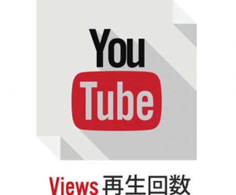 YouTube再生回数1000増やします 当サービス利用が漏れることはなく安心してご利用いただけます イメージ1