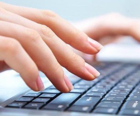 PCのデータ入力、レポート入力ができます タイピングが苦手な方にオススメ!! イメージ1