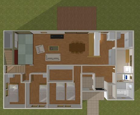 住宅設計のプロの建築士が評価、アドバイスします これで大丈夫かな?と確信持てない間取りを安心して進めるために イメージ1