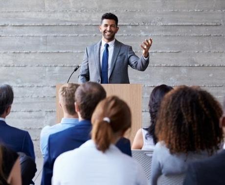 緊張せずスピーチができる方法をお伝えします コツを知るだけであなたも簡単に自分らしくスピーチができます イメージ1