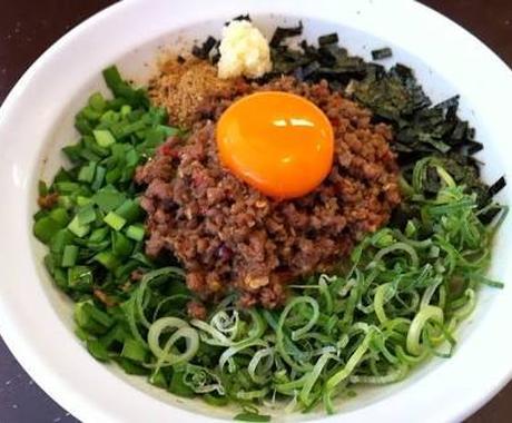 今、名古屋で大人気!!!台湾まぜそばの台湾ミンチのレシピを教えます!!! イメージ1
