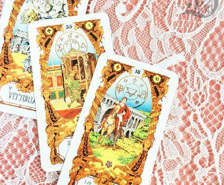 タロット&西洋占星術で1年間の運勢を占います 1年分のメッセージ☆12カ月のワンポイント占い☆ イメージ1