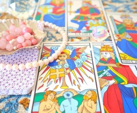 問題を好転に導く癒しの霊感・霊聴タロットをします 複数のカードやダウンジング等を駆使して精密な鑑定を提供♪ イメージ1