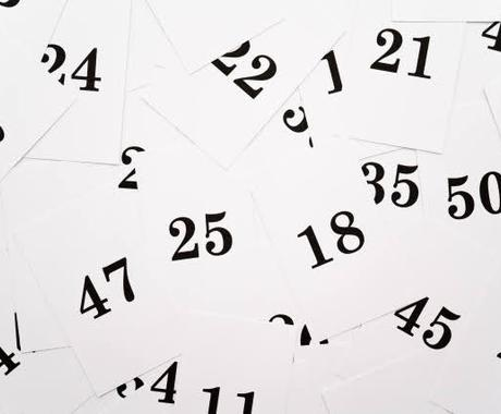 数秘術から運気のサイクルを調べます あなたが気になる年や月日がどの数字にあたるのかお伝えします☆ イメージ1