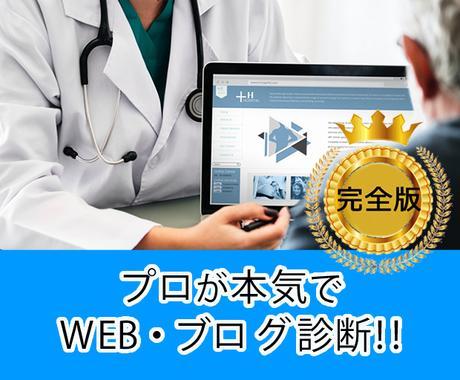 完全版★★★ プロが本気でサイト診断します WEBコンサルタントがあなたのサイト・ブログ診断を行います。 イメージ1