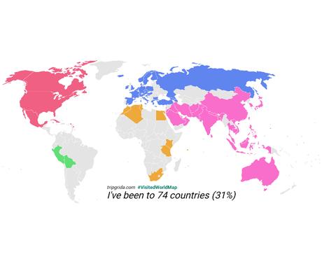 海外生活に憧れをお持ちの方、お話し聞きます 74カ国を訪れた元外資系CAと海外について語り合いましょう! イメージ1