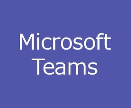 Microsoft Teamsの活用支援を行います Teams導入後の悩みを解決!使い方をレクチャー! イメージ1
