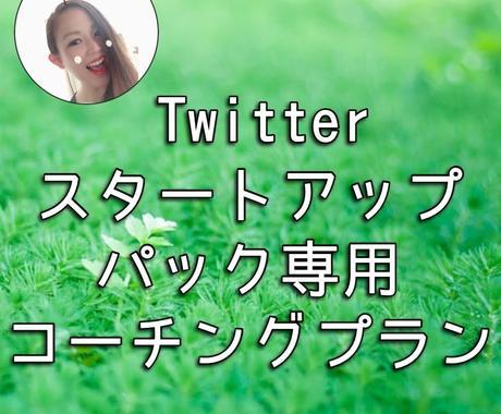 Twitterスタートアップ専用コーチングします 始めたばかりのTwitterで楽しく活動したい方へ イメージ1
