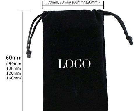 ロゴ可能☆ポーチ巾着袋をタオバオで制作の見積します 上質な生地、ログは必要、だけど価格は抑えたい 希望を叶えます イメージ1