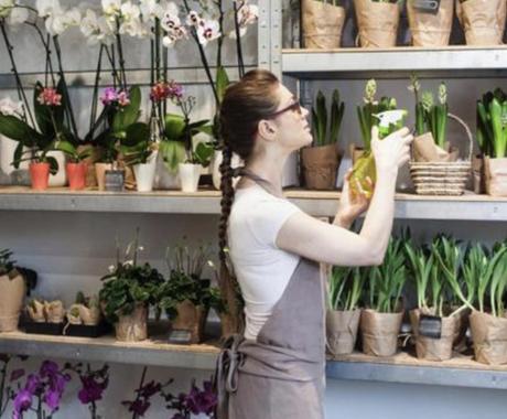元花屋店員が花屋さんで働きたい方へアドバイスします 秘密厳守☆トークルームで1時間ご質問にお答え致します イメージ1